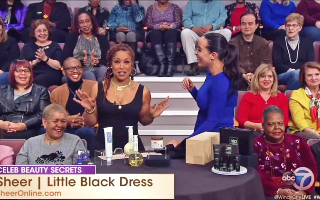 SHEER the Little Black Dress | ABC 7 Chicago Windy City Live